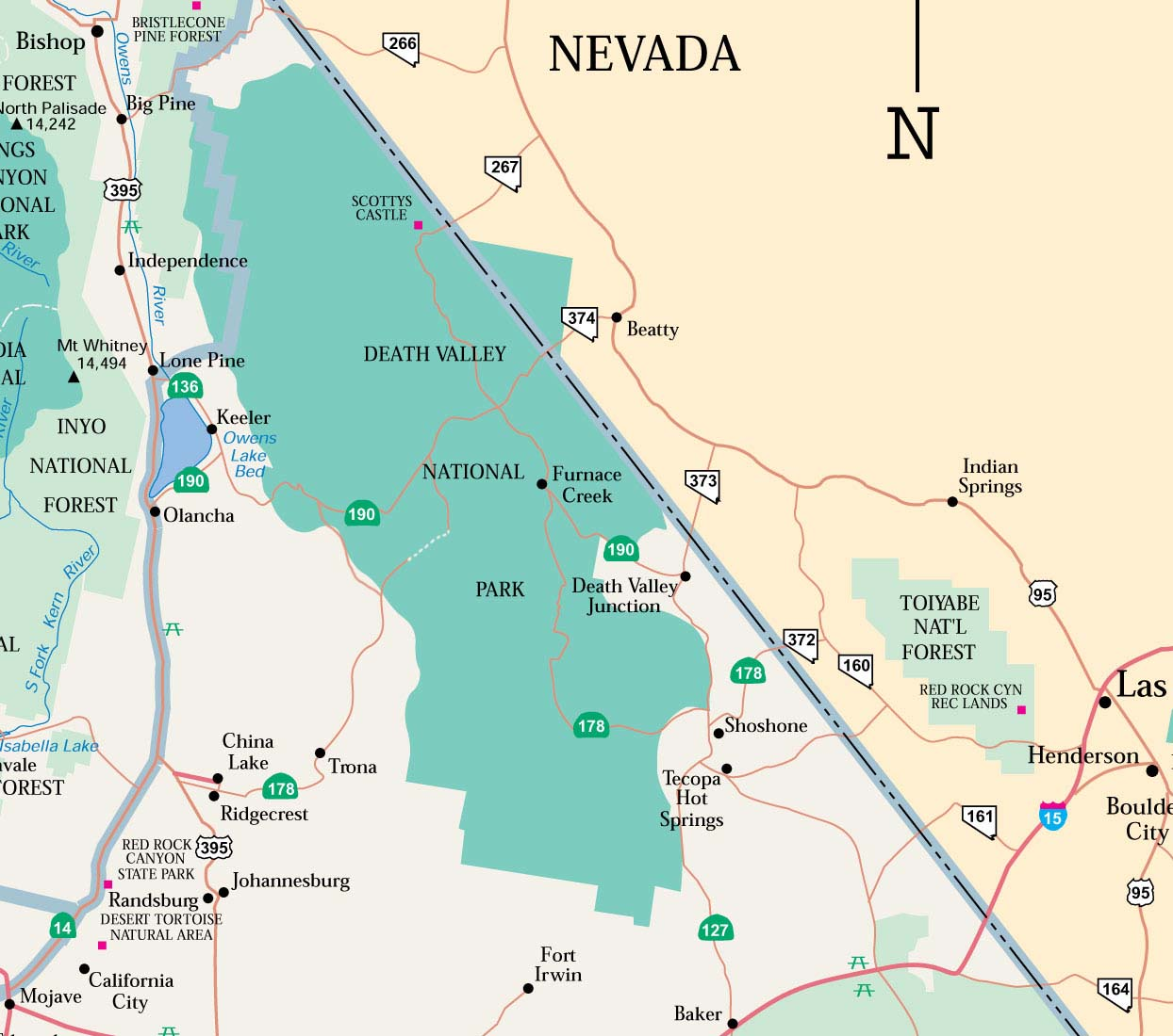 National Park In Death Valley California Guide To