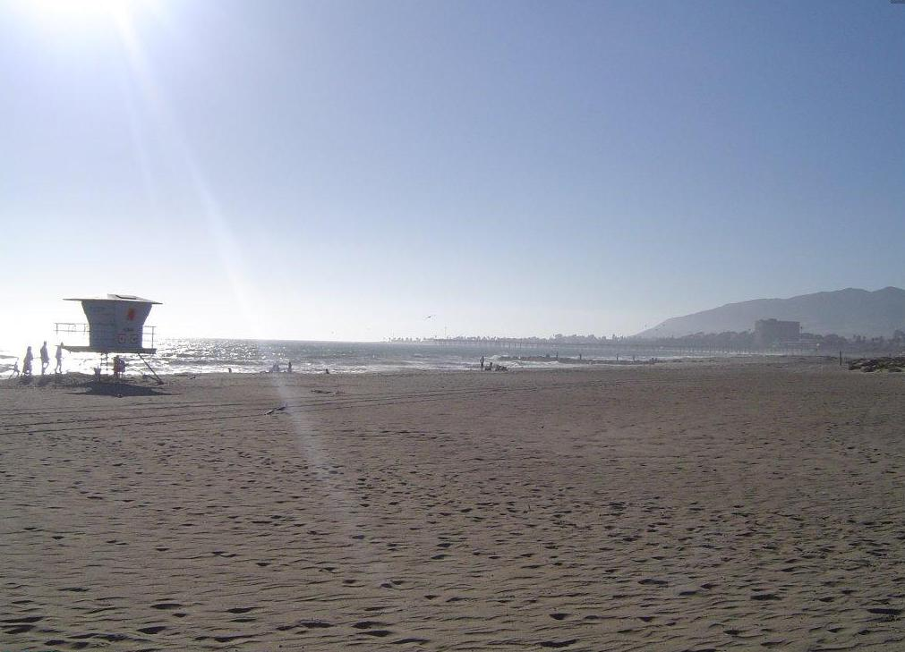 San Buenaventura State Beach in Ventura, California