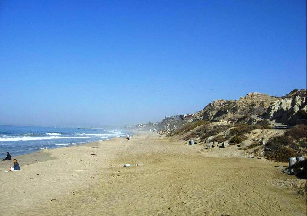 San Clemente State Beach in San Clemente, California