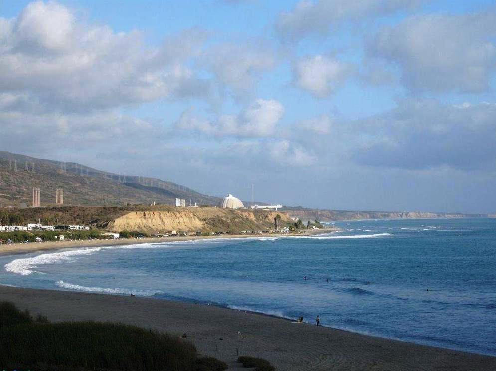 San Onofre State Beach in Oceanside, California