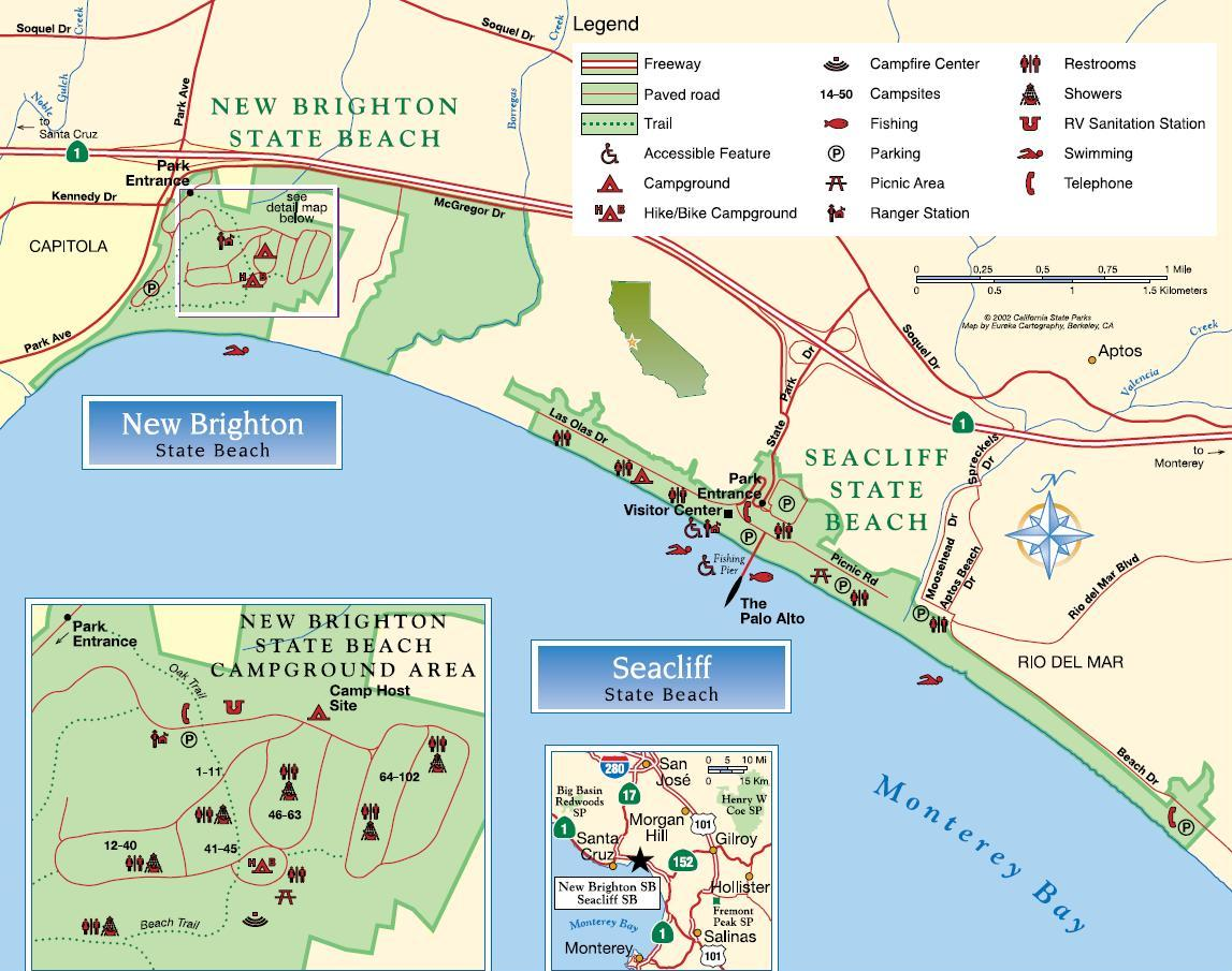 Seacliff California State Parks On The Beach Guide To Seacliff State Beach Park