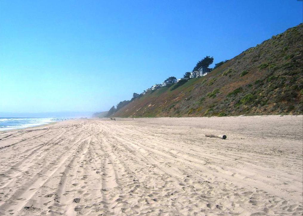 Sunset State Beach in Watsonville, California
