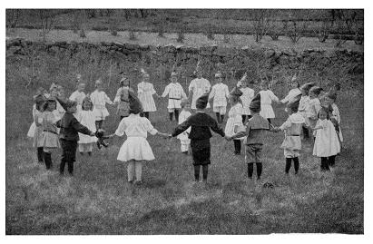 A Child's May Day Party